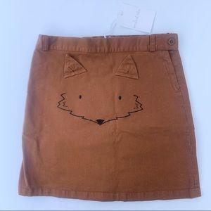 Emile et ida Fox Skirt